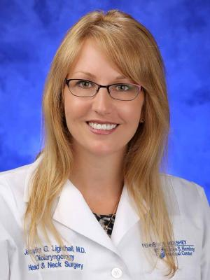 Dr. Jessyka G. Lighthall is pictured in a professional head and shoulders photograph