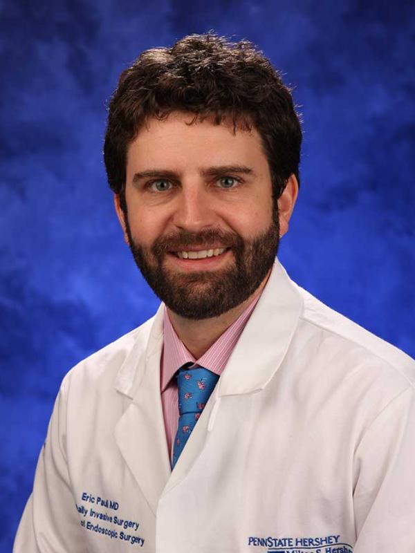 A head-and-shoulders photo of Eric M. Pauli, MD