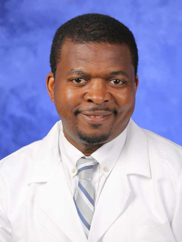 A head-and-shoulders photo of Alain Zingraff Z. Lekoubou Looti, MD