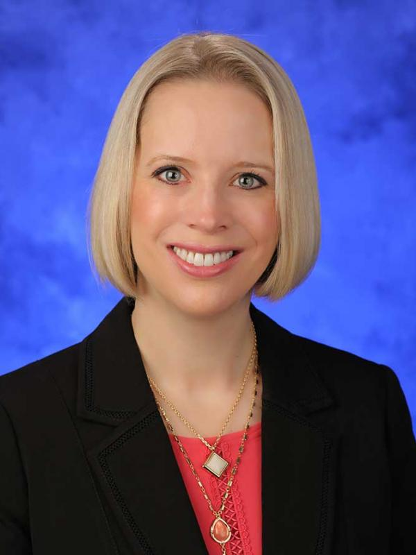 A head-and-shoulders professional photo of Jennifer Kraschnewski