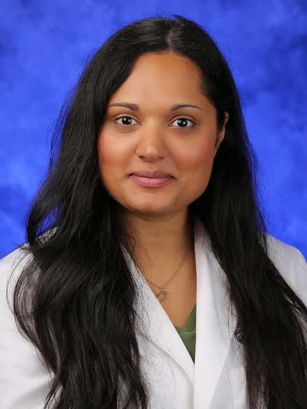 A head-and-shoulders photo of Sarah K. Hussain, MD