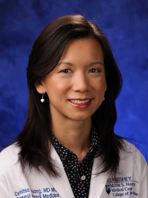 A head-and-shoulders professional photo of Cynthia Chuang