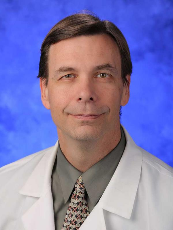 A head-and-shoulders photo of John P. Boehmer, MD