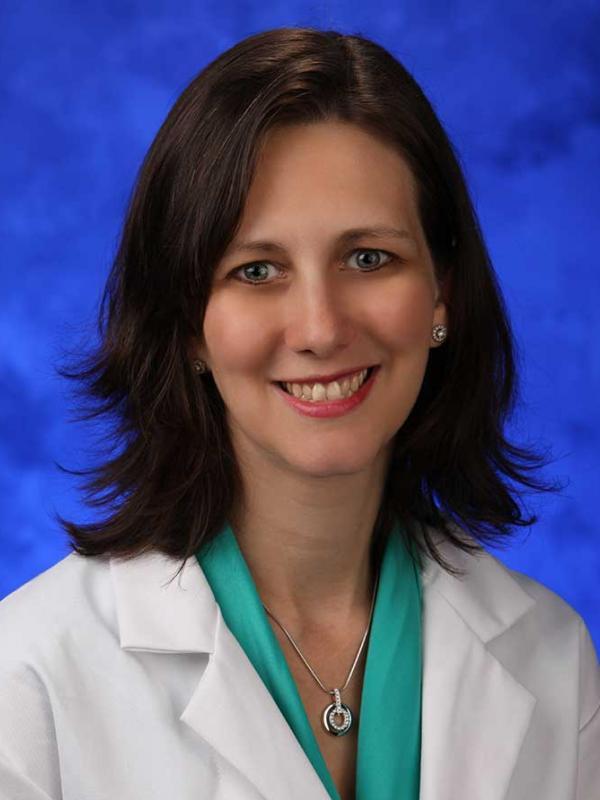 A head-and-shoulders photo of Karen Krok, MD