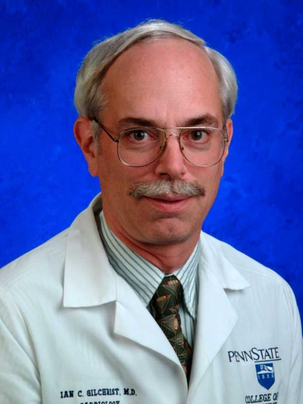 A head-and-shoulders photo of Ian C. Gilchrist, MD