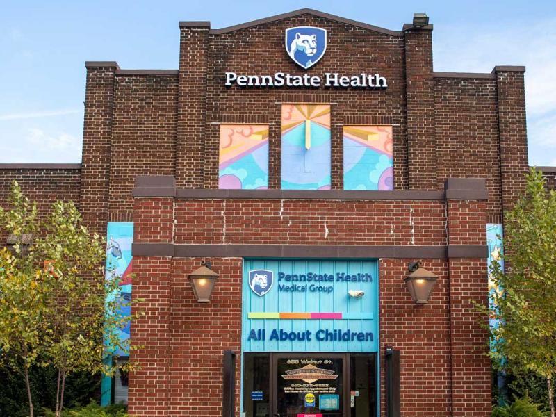 Penn State Health Medical Group - All About Children location entrance