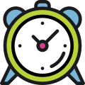 icon for children's clock